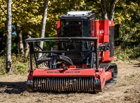 FECON FTX150 COMPACT MULCHING TRACTOR WITH MULCHER 3