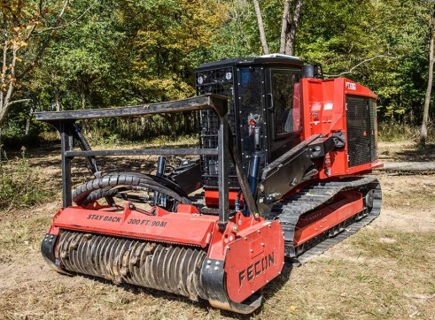 FECON FTX150 COMPACT MULCHING TRACTOR WITH MULCHER 4