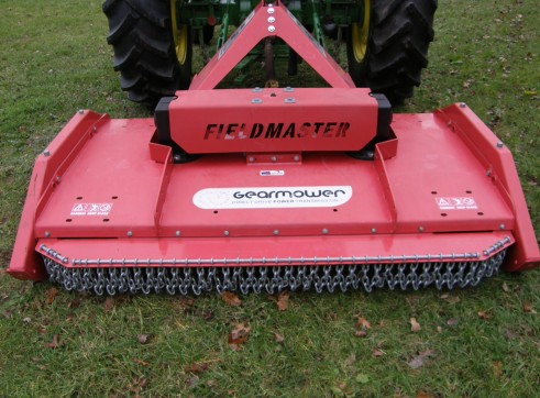 FieldMaster GMM Gearmower 3n1 Multicut Mulcher / Topper /Slash 2