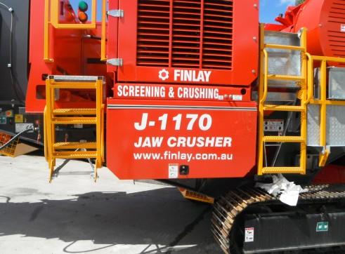 FINLAY J-1170 JAW CRUSHER 4