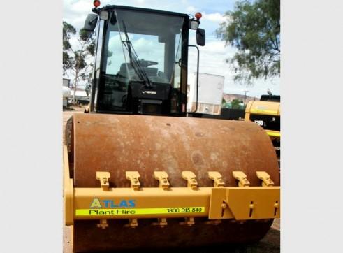 Flat Drum Roller Cat CS-563E 1