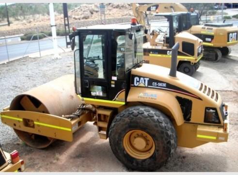 Flat Drum Roller Cat CS-563E 2