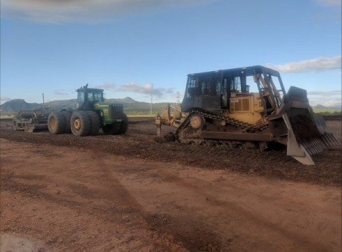 Fleet of D7 dozers & D7 swampy dozers 2