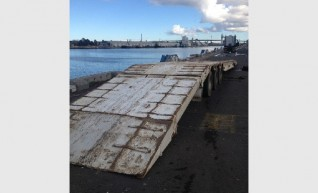 Float - Low Loader Tri Axle  90cm deck height 1