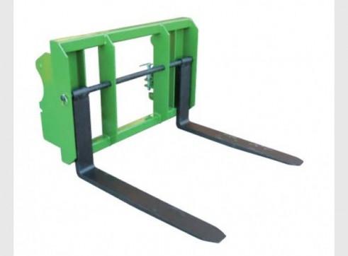 Floating Adjustable Pallet Fork 1
