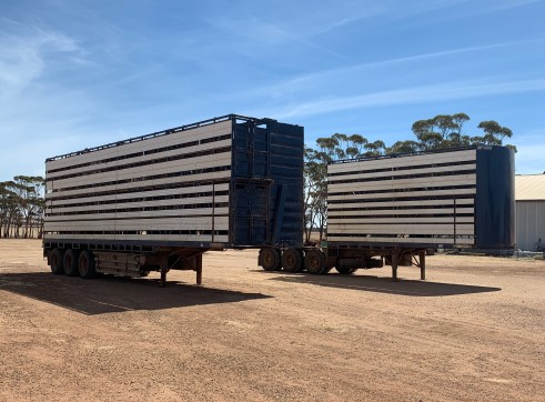 SFM Stock Crate B-Double $250 p/day 1