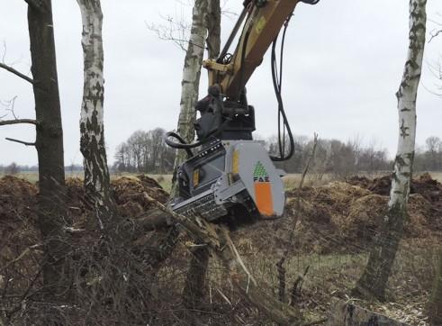 Forestry Mulcher for excavators 1