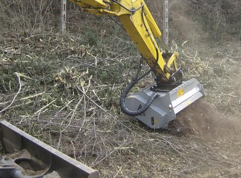 Forestry Mulcher for excavators 2
