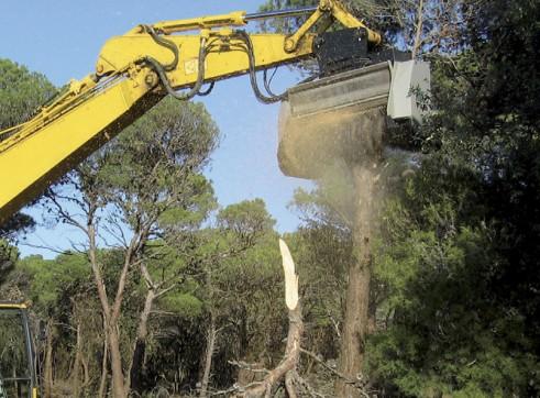 Forestry Mulcher for excavators 3
