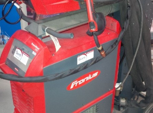 FRONIUS TRANSSTEEL 3500 MIG WELDER WATERCOOLED 1