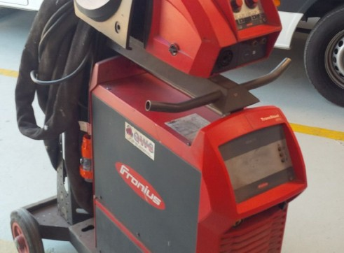FRONIUS TRANSSTEEL 3500 MIG WELDER WATERCOOLED 2