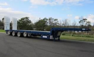 Fruehauf Quad Axle Drop Deck Trailers 1