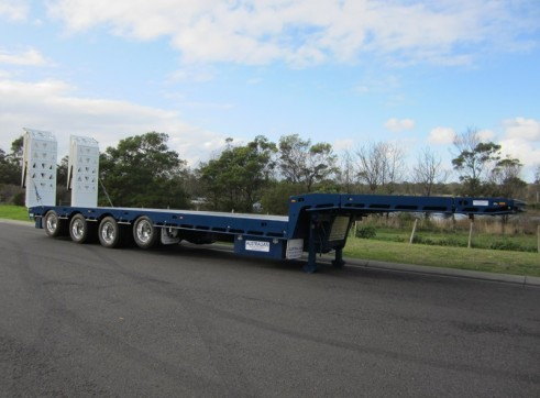 Fruehauf Quad Axle Drop Deck Trailers 1