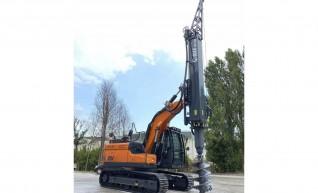 Geax DTC50 Piling Rig 1