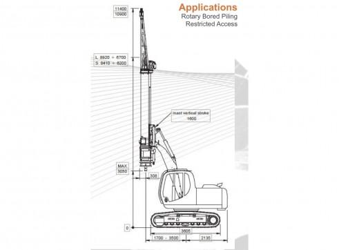 Geax DTC50 Piling Rig 2