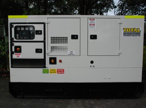 Generator - Silenced Diesel 100 kVA Prime Power 1