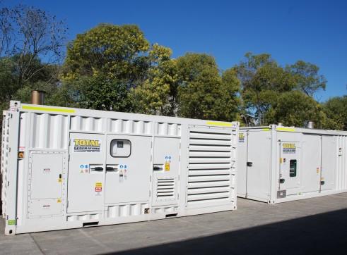 Generator - Silenced Diesel 1000 kVA Prime Power
