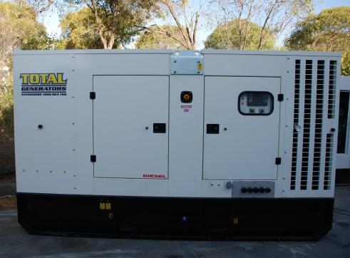 Generator - Silenced Diesel 200 kVA Prime Power