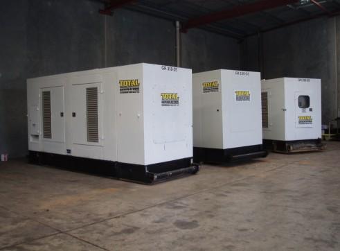 Generator - Silenced Diesel 250 kVA Prime Power