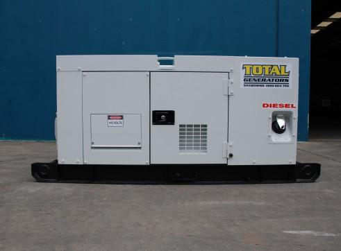 Generator - Silenced Diesel 30 kVA Prime Power
