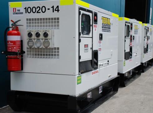 Generator - Silenced Diesel 45 kVA Prime Power 1