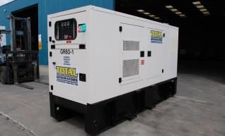 Generator - Silenced Diesel 70 kVA Prime Power 1