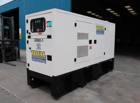 Generator - Silenced Diesel 70 kVA Prime Power