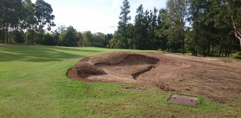 Golf Course Construction - Bayview Golf Club Stage 1 10