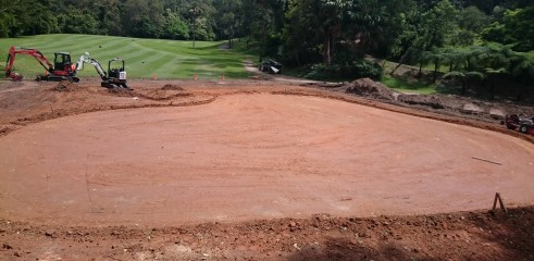 Golf Course Construction - Bayview Golf Club Stage 1 12