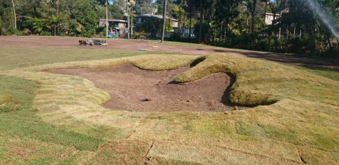 Golf Course Construction - Bayview Golf Club Stage 1 4