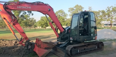 Golf Course Construction - Bayview Golf Club Stage 1 9