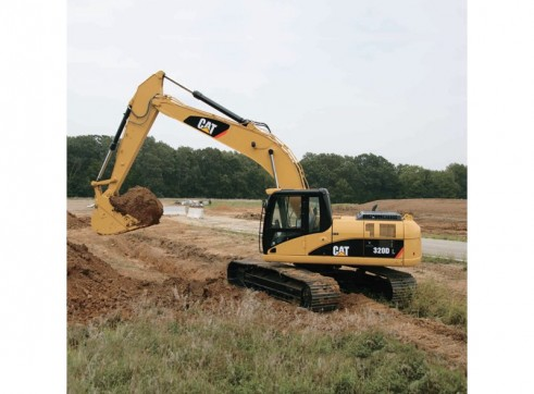 GPS guidance equipped 20T excavator low hours 1