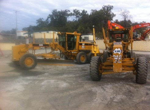 Graders with Gps/uts 2