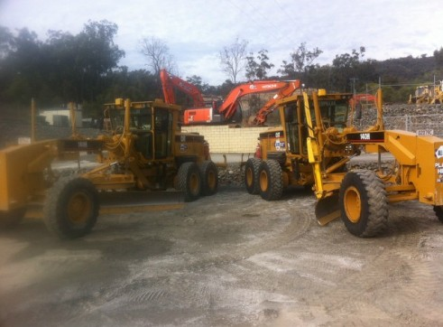 Graders with Gps/uts 3