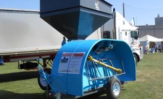Grain Bag in loader & out loader 1