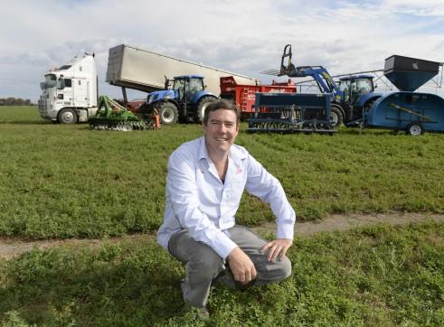 Grain Bag in loader & out loader 3