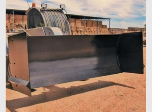 Grain/Silage Pusher Blade 1