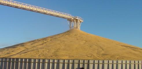 Grain Storage Bunkers 1