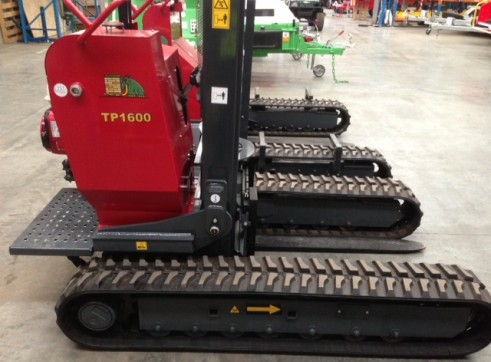 Hades Tracked Fork Lift- with track widening 2