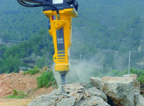 4.5-9T Hydraulic Hammer / Rock Breaker 2