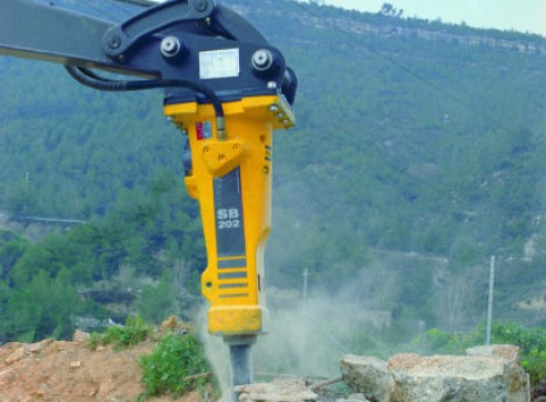 4.5-9T Hydraulic Hammer / Rock Breaker 1