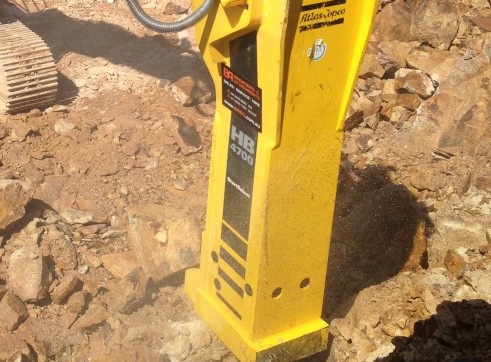 45-80T Hydraulic Hammer / Rock Breaker 2