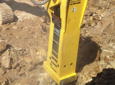 45-80T Hydraulic Hammer / Rock Breaker 1