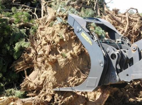 Hardwood Log Grab 2