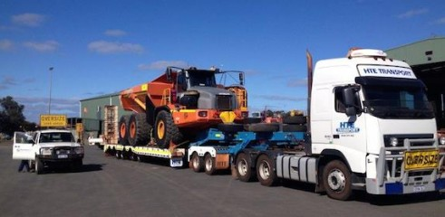 Heavy Equipment Transportation up to 50t 2