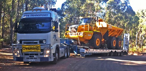 Heavy Equipment Transportation up to 50t 3