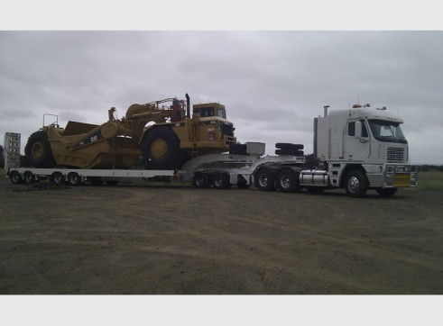 Heavy Floats Quad-Axle Float - Extends to 3.5 metres width, 49T, 11.5 metre 1