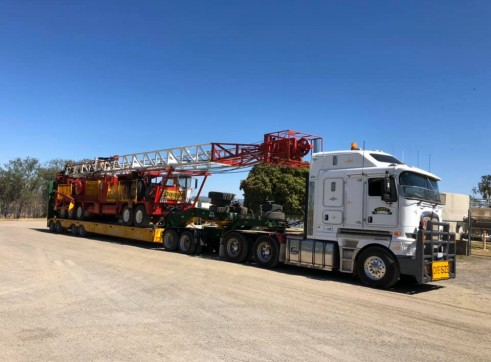 Heavy Haulage & Over Dimensional Loads 3