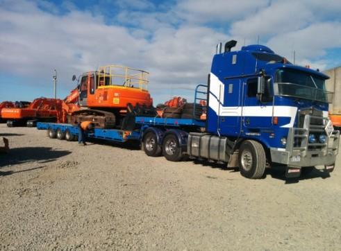 Heavy Haulage - Tri-axle deck widener extendable 1