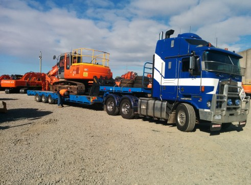 Heavy Haulage - Tri-axle deck widener extendable 1
